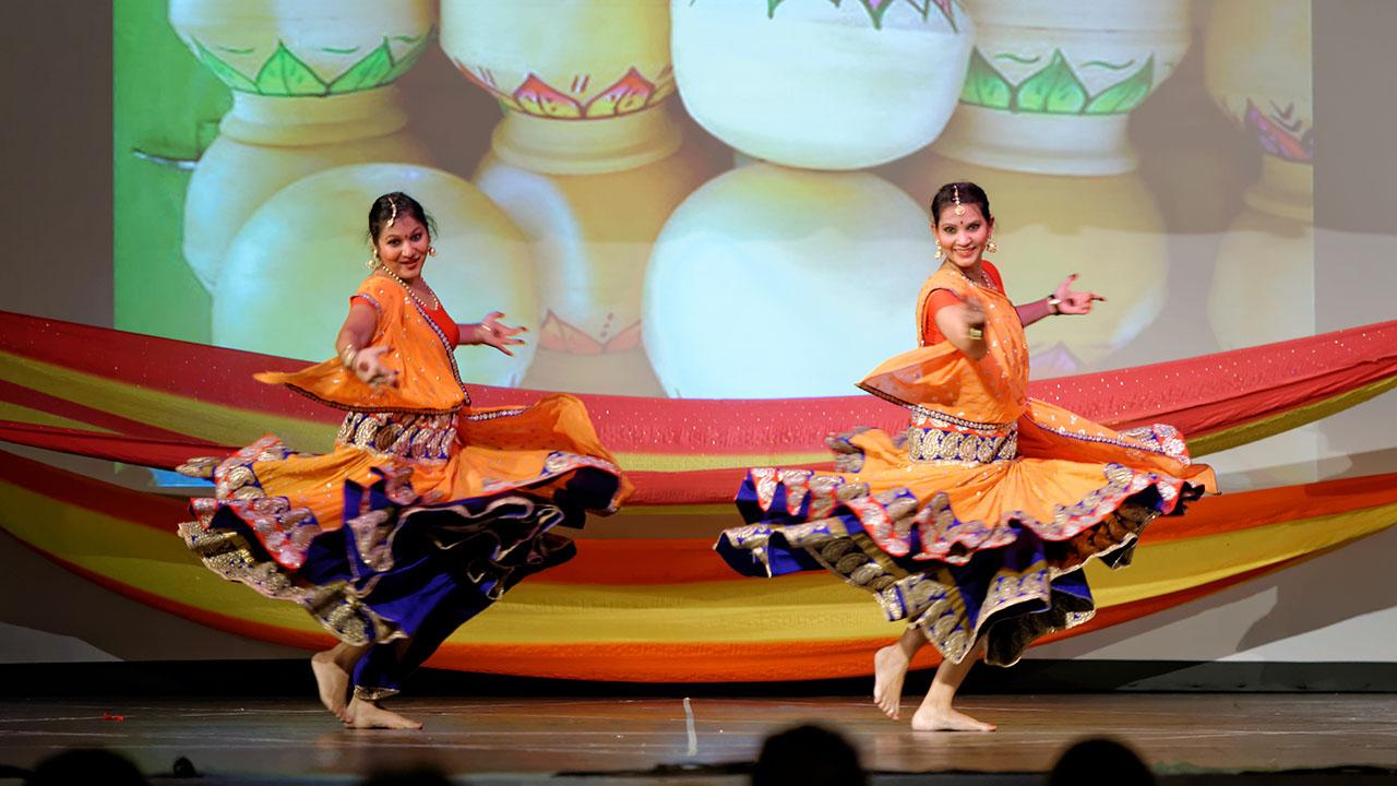Stuti & Veena performing Bollywood Dance in Switzerland